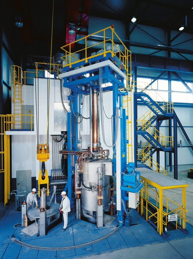 Elektroschlacke Umschmelzanlage ESU F1000 P 20 II (20 Tonnen)