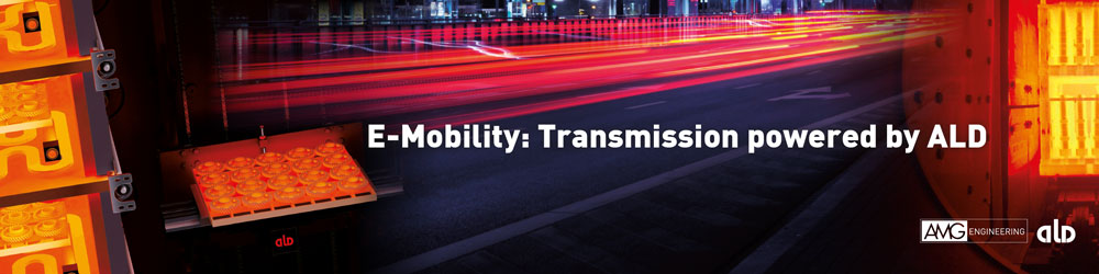 E-Mobility: Transmission powered by ALD